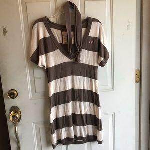 Striped Hollister dress/top